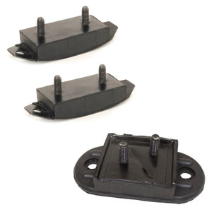 Transmission Mount Set Vw Bus 1963-67. Front & Rear Mounts