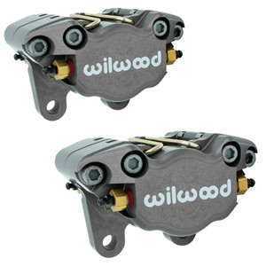 Empi 16-2526  Vw Bug, Ghia Wilwood 2 Piston Caliper Set W/Pads, Pair