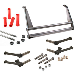 """Vw Bug Suspension Kit 6"""" Wide Beam 10"""" Towers, 4X1 Trailing Arms"""