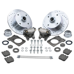 Empi 22-6150 Vw Super Beetle Front Wilwood Disc Brake Kit, 4 Lug Vw Pattern