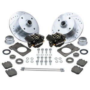 Empi 22-6150-B Vw Super Beetle Front Wilwood Disc Brake Kit, 4 Lug Vw Pattern