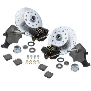 Empi 22-6152-B Vw Bug Frt Wilwood Disc Brake Kit Drop Spindle 5Lug Porsche/Chevy
