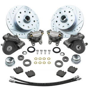 Empi 22-6153 Vw Bug Front Wilwood Disc Brake Kit Drop Spindle 5Lug Porsche/Chevy