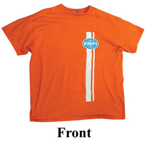 Empi 15-4025 American Classic Orange T-Shirt, Large