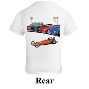 Empi 15-4119 Dragster T-Shirt, XX-Large