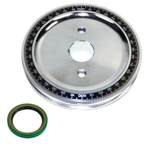 Empi 33-1091 Vw Steel Billet Crankshaft Stock Size Pulley, Machine-In Sand-Seal