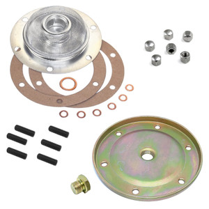 Vw Bug Oil Drain Plate Cover Kit. Vw Air-cooled Engines 1500cc And up (AC115200)