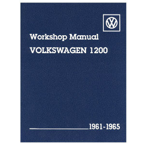 Bentley Shop Manual For Type 1 Bug & Ghia 1961-1965 Air-cooled Volkswagens