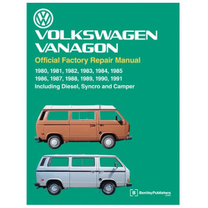 Bentley Shop Manual For Vanagon 1980-1991 Water Cooled Volkswagens