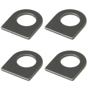 Empi 17-2716 Short Mounting Tab For Brake Hoses, 4 Pack