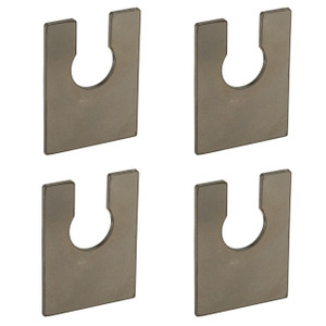 Moore Parts Tall Slotted Mounting Tab For Brake Hoses, 4 Pack
