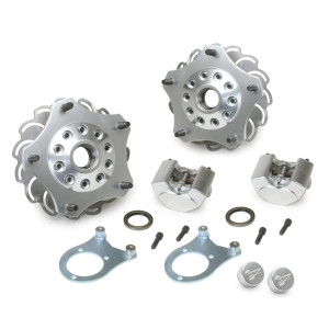 Jamar Performance 5 Lug Front Disc Brake Kit For Combo Spindles