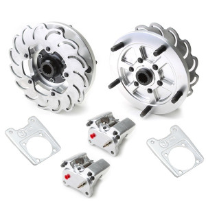 Jamar Performance Short Axle Rear Disc Brake Kit With 2 Piston Caliper