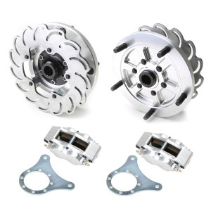 Jamar Performance Long Axle Rear Disc Brake Kit With 4 Piston Caliper