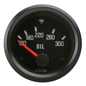 "VDO Cockpit Series 2-1/16"" Oil Temperature Gauge 310012"