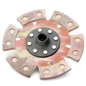 "Kennedy Heavy Duty 6 Puck (8"" / 200mm) Rigid Clutch Disc Vw Spline Hole"