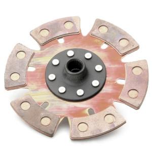 """Kennedy Heavy Duty 6 Puck (9"""" / 228mm) Rigid Clutch Disc Mendeola G-50 Spline"""