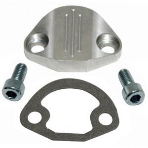 Vw Manual Fuel Pump Block Off Plate, Aluminum