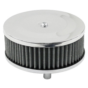 Chrome Round Air Cleaner For Classic Vw Air-cooled Volkswagens 2
