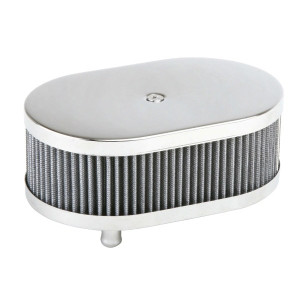 Chrome Oval Air Cleaner For Classic Vw Air-cooled Volkswagens