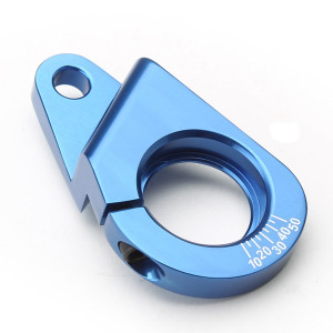 Blue Aluminum Vw Distributor Clamp For Vw Air-cooled Engines
