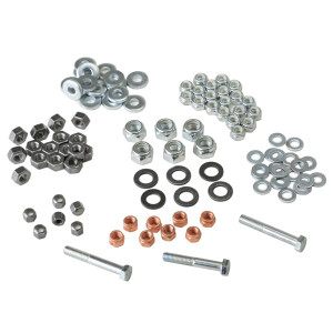 Engine Hardware Nut Kit 8mm Head Nuts