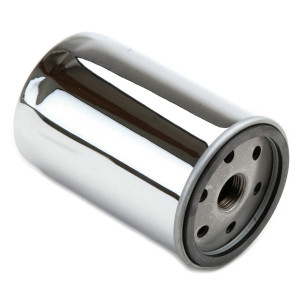 Chrome Oil Filter For Full Flow Oil Pumps On Air-cooled Vw Engines