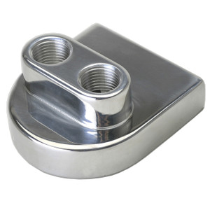 Aluminum Spin-On Oil Filter Adapter