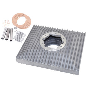 1.5 Quart High Capacity Aluminum Oil Sump For Vw Air-cooled Engines