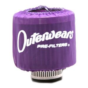 """Purple Outerwear Prefilter Round 2"""" Diameter 10-1132-07"""