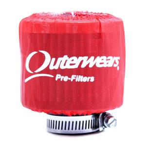 """Red Outerwear Prefilter Round 2"""" Diameter 10-1132-03"""