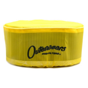 "Yellow Outerwear Prefilter Oval 4.5"" X 7"" X 3.5"" 10-1040-04"