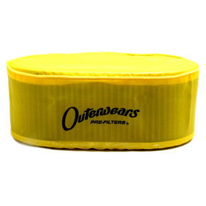 "Yellow Outerwear Prefilter Oval 5.5"" X 9"" X 3.5"" 10-1098-04"