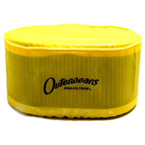"Yellow Outerwear Prefilter Oval 5.5"" X 9"" X 6"" 10-1038-04"
