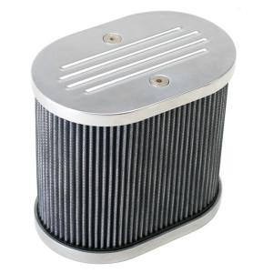 "Aluminum Air Cleaner For IDF Weber / Empi HPMX 4-1/2"" X 7"" X 6"""
