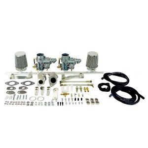 Empi Dual 34 EPC Carburetor Kit Vw Type 1 Air-cooled Single Port Engine