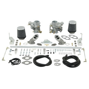 Weber Dual 34 ICT Carburetor Kit Vw Type 1 Air-cooled Dual Port Engines