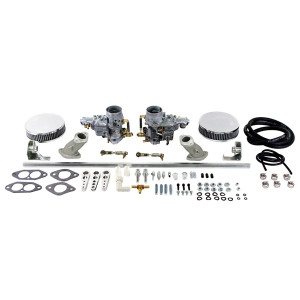 Weber Dual 34 ICT Carburetor Kit Vw Type 3 Air-cooled Single Port