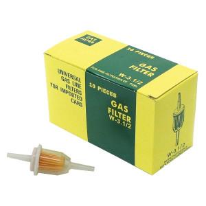 Plastic Fuel Filter 10 Pack