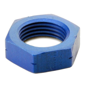 An Nut For #8 Bulk Head Adapter - Blue