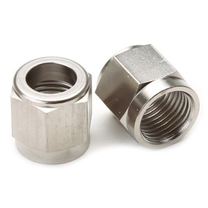 "Tube Nut For 1/2"" Stainless Steel Hard-Line - Steel"
