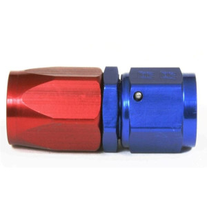 An Hose End Fitting - Female #10 / Straight-Blue/Red