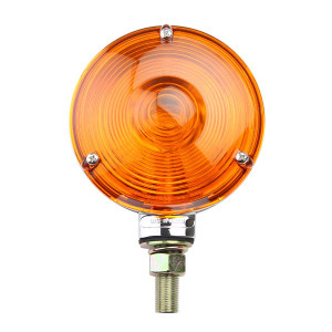"4"" Off-Road Light With Amber Lens And Chrome Housing"