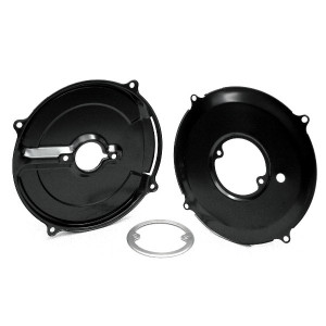 Black 3 Piece Alternator Backing Plate Set/Air-cooled Vw Engines
