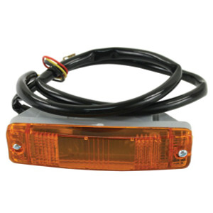 Amber Turn Signal Lights For Chrome Front Bumper Vw Bug 1968-1973
