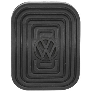 Volkswagen Brake Or Clutch Pedal Pad With VW Logo - Type 1 Vw Bug 1949-79, Pair