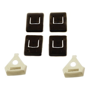 Vw Bug Guide Piece Kit For Seat Rails