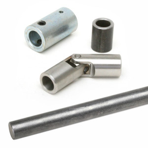 "Jamar Performance Shift Rod Linkage Kit 1/2"" Steel Rod 36"" Long"