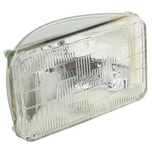 "Rectangular 12 Volt Headlight Bulb 4"" X 6"" High/Low Beam"