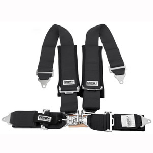 20134P Crow 4 Way 3x3 Seat Belt, Sandrail UTV Polaris RZR XP900 Can-Am Maverick